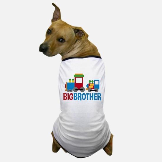 Trains Big Brother Dog T-Shirt