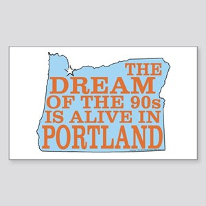 The Dream Of The 90s Sticker