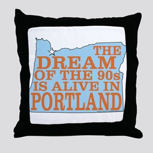 The Dream of the 90s Throw Pillow
