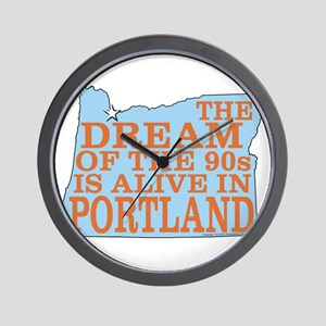 The Dream of the 90s Wall Clock