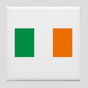 National Flag of Ireland Tile Coaster