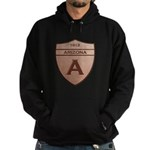 Copper Arizona 1912 Shield Hoodie