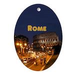 Rome Ornament (Oval)