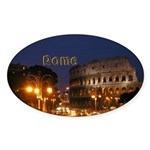 Rome Sticker (Oval)