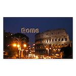 Rome Sticker (Rectangle 50 pk)