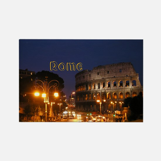 Rome Rectangle Magnet