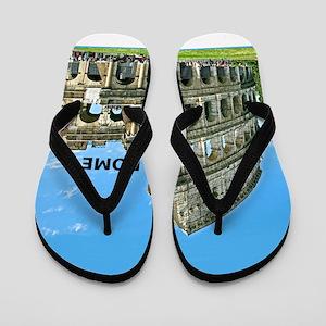 c25e3d655b75c Roman Flip Flops - CafePress