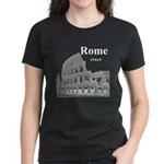 Rome Women's Dark T-Shirt