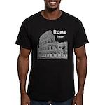 Rome Men's Fitted T-Shirt (dark)