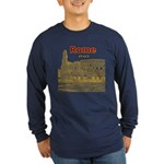 Rome Long Sleeve Dark T-Shirt