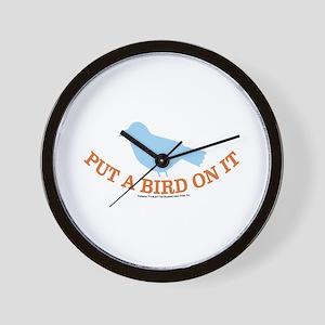 Portland Bird Wall Clock