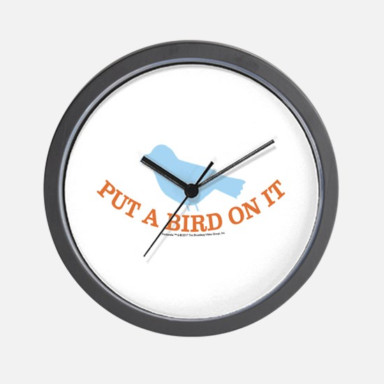 Portland Bird Wall Clock
