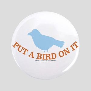 """Portland Bird 3.5"""" Button"""
