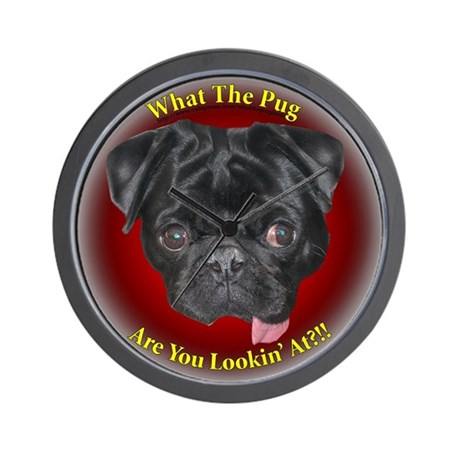 What The Pug? Wall Clock