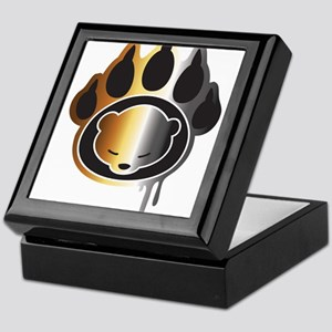 Bear footprint Keepsake Box