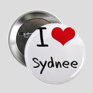 "I Love Sydnee 2.25"" Button"