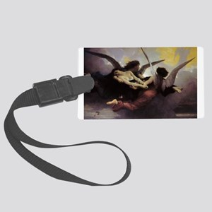 Soul Carried to Heaven Large Luggage Tag