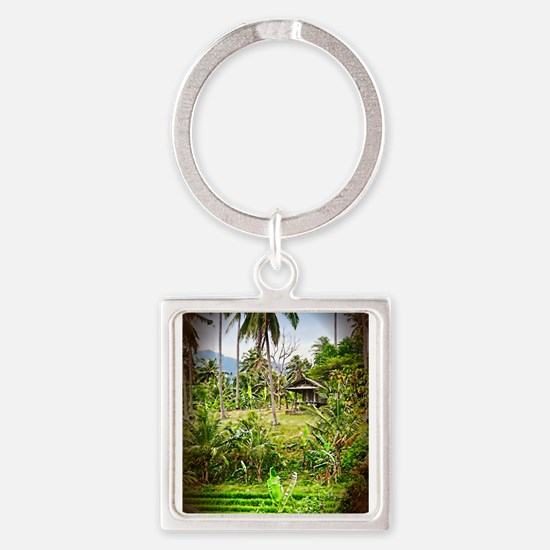balinese farm.png Keychains