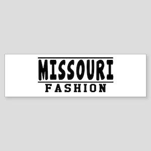Missouri Fashion Designs Sticker (Bumper)