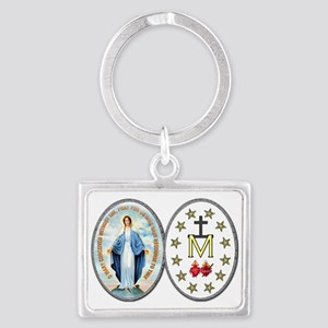 MiraculousMedal_complete_transp Keychains