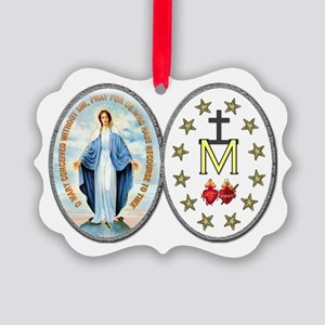 MiraculousMedal_complete_transp Ornament