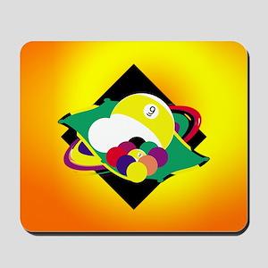9 ball 3 Mousepad
