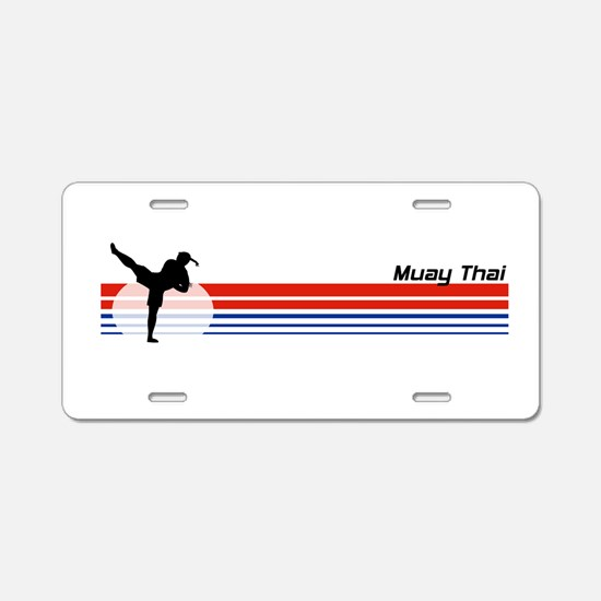 Funny Ultimate frisbee Aluminum License Plate