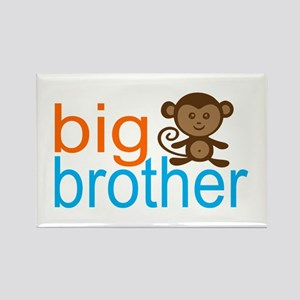 Big Brother Monkey Rectangle Magnet (10 pack)