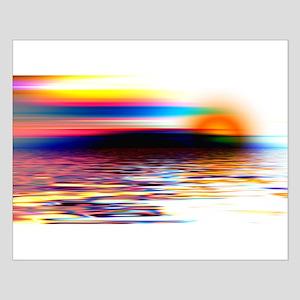Abstract Horizon Small Poster