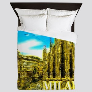 Milan Queen Duvet