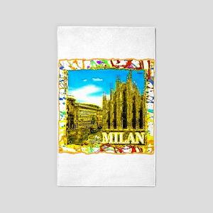 Milan 3'x5' Area Rug