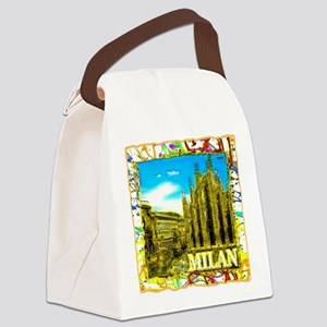 Milan Canvas Lunch Bag
