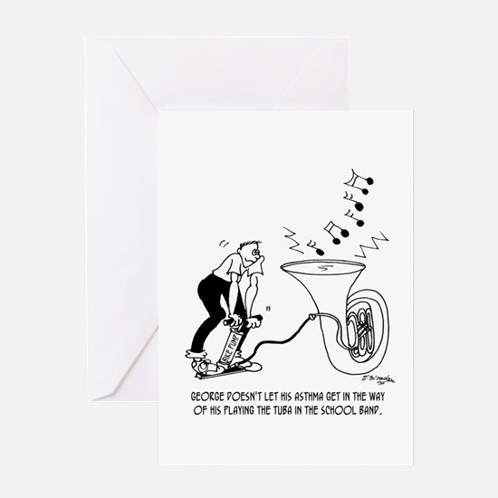 How to Beat Asthma Greeting Card