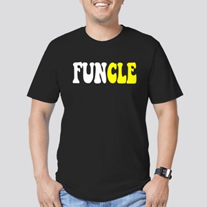 Fun Uncle FUNCLE Men's Fitted T-Shirt (dark)
