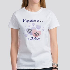 Happiness is...a Sheltie Women's T-Shirt