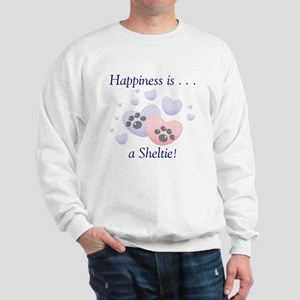 Happiness is...a Sheltie Sweatshirt