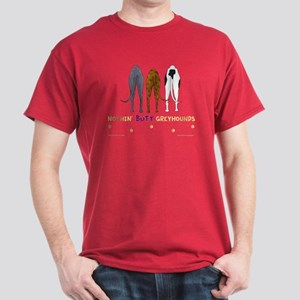 Nothin' Butt Greyhounds Red T-Shirt