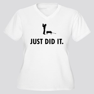 Dog Breeder Women's Plus Size V-Neck T-Shirt