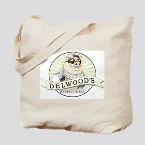 Delwoods Barbecue LLC Logo Tote Bag
