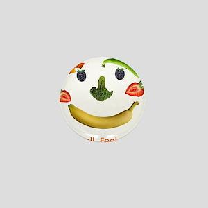 Healthy Diet Mini Button
