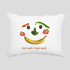 Healthy Diet Rectangular Canvas Pillow