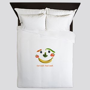 Healthy Diet Queen Duvet