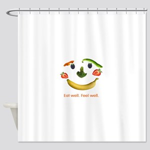 Healthy Diet Shower Curtain