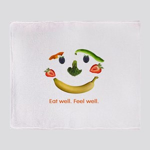 Healthy Diet Throw Blanket