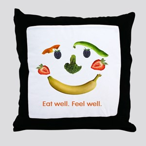 Healthy Diet Throw Pillow