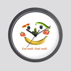 Healthy Diet Wall Clock