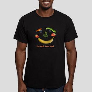 Healthy Diet Men's Fitted T-Shirt (dark)