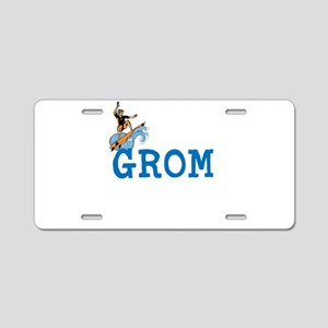 Grom Aluminum License Plate