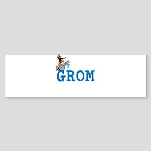 Grom Bumper Sticker