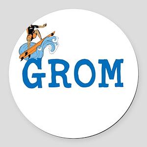 Grom Round Car Magnet